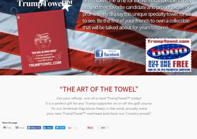 Trump Towels